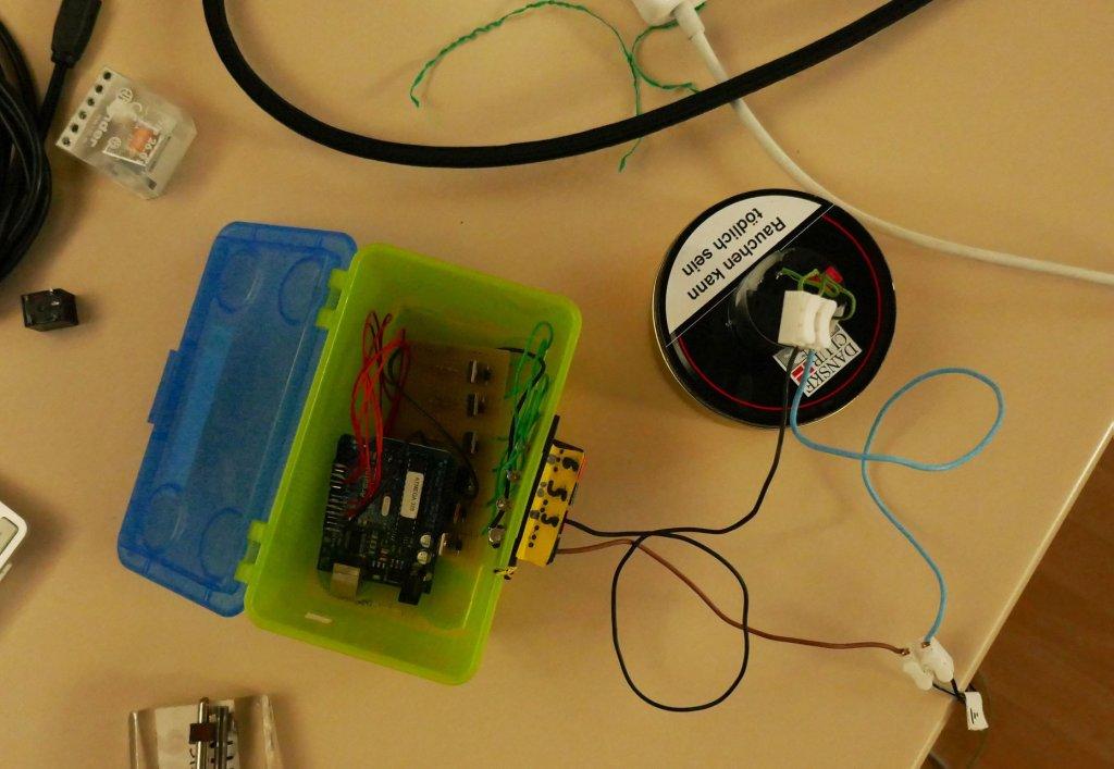 Physical computing at GRAIM