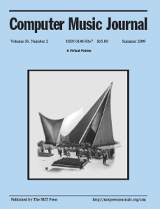 Computer Music Journal: the VEP article