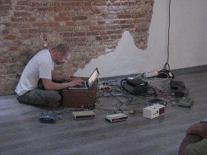 Live writing with radioclocks at TPA